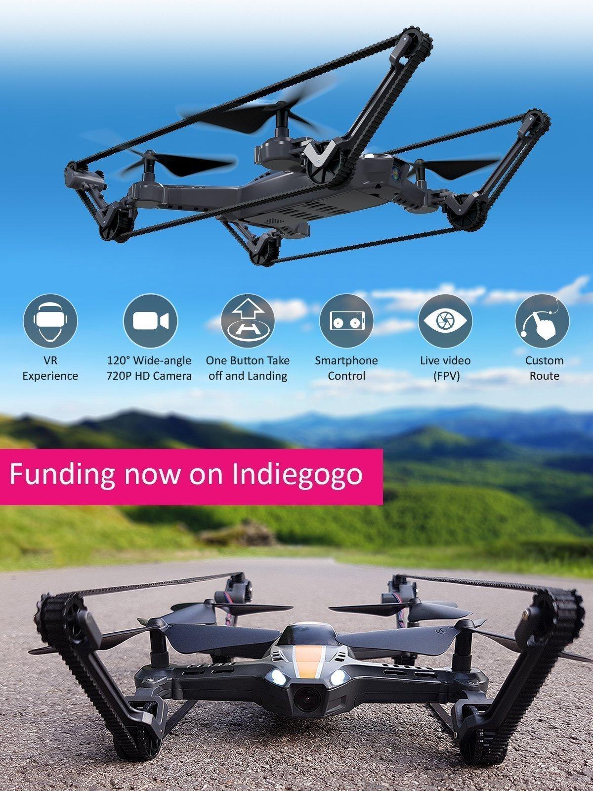 X-TankCopter Dron